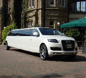 Audi Q7 Limo in Cardiff Bay