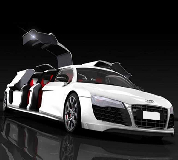 Audi R8 Limo Hire in Cardiff