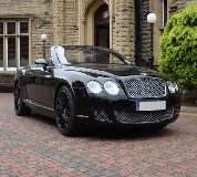 Bentley Continental Hire in Cardiff Bay