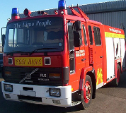 Fire Engine Hire in Abergavenny