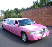 Lincoln Towncar Limos in Maesteg