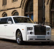 Rolls Royce Phantom Limo in Bridgend