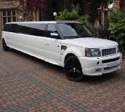 Range Rover Limo in Neath